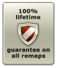 guarantee on all remaps  100% lifetime